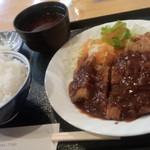 洋食のチコレ - ビフカツ定食◎