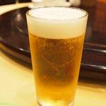 老香港酒家 - 生ビール