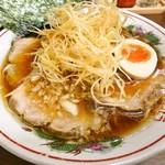 こえもん - ネギチャーシュー麺に味玉!