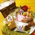 ビルゴ洋菓子店 - 左上の箱にこんなにたくさん入ってました♫