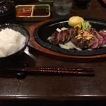 神戸牛 ステーキ ヘンリー亭 - 神戸牛ランプステーキセット150g(3,980円)