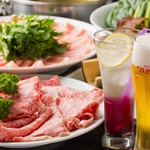 なべ家 和元 - 料理写真:飲み放題付5000円コース