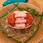京ごちそう いしまる - せいこ蟹の甲羅盛り
