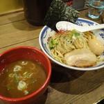 つけ麺や 武双 - 濃厚鶏魚介 味玉つけ麺
