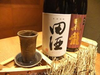 北前居酒屋 佐勘  - 各地の美味しい地酒を揃えています