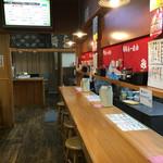 味納喜知  - 店内をパシャ 平日の夕方18時過ぎです