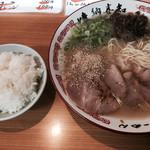 味納喜知  - ご飯=100円 麺は こんなんです