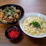 おいしん坊 - スタミナ丼+そば(小)セット