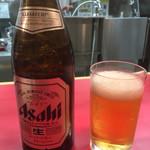 元祖タンメン屋 - 瓶ビール