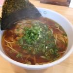 60017934 - 天然魚介醤油ラーメン(特製カニ油)¥680