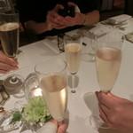 リストランテKubotsu - 乾杯