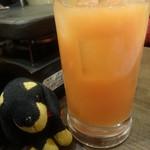 塊ゆゑに。 - ピンクグレープフルーツジュース