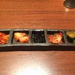 60019130 - キムチ スルメ・大根・韓国のり・白菜・きゅうり