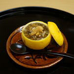 是しん - おまかせ 柚子釜