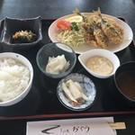 お食事処おぐら - 料理写真:アジフライ定食