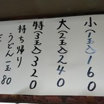60020479 - メニュー表