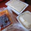 オクハラ・フーズ - 料理写真:揚げ出し豆腐・絹こし豆腐・おぼろ豆腐