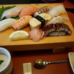 味家山崎 - 握り寿司膳