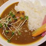 60023162 - 【ランチ】 鶏もも肉丸ごと一枚 カレー \680