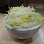 麺家 いし川 - 野菜!!!