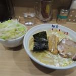麺家 いし川 - ら~麺+野菜