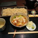 寿庵忠左衛門 - 料理写真:つけ鴨そば(大)2,500円也