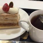 パイヤール - ミルフィーユでケーキセット