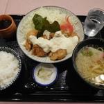 味将 - チキン南蛮定食¥990-