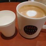 タリーズコーヒー - カフェラテのトール¥410-