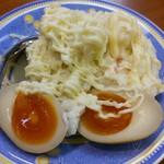 感麺道 - ポテトサラダ 味付け玉子付