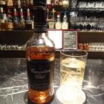 バー リフィル - カナディアン ウイスキー カナディアン クラブ ブラックラベル