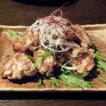 KORI庵 - 鳥のから揚げ美味しかったです。