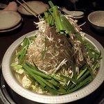 KORI庵 - モツ鍋の煮立ち前です。
