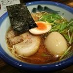 Afuri - 柚子醤油ラーメン+煮玉子 ¥980プラス¥230で¥1210