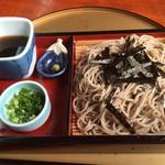 麺喰い峠 - 料理写真:ざるそば=600円
