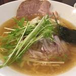 麺屋横浜にぼし堂 - 煮干し塩ラーメン