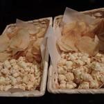 あさみ - ポップコーンとポテトチップス