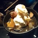 土間土間 - 安納芋とりんごのホットメープルパイ