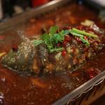 麻辣道場 - 活〆鯉のマーラー鍋