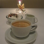 モダンフレンチ 「コラージュ」 - コーヒー