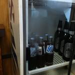 朝日屋 - ファンタグレープの瓶