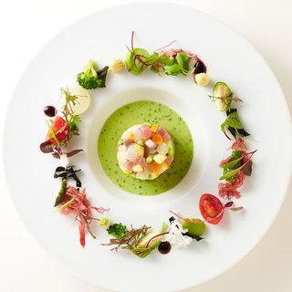 信州産の野菜と旬の食材に拘ったお料理