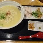 60039294 - 鶏白湯らーめん723円(201612)