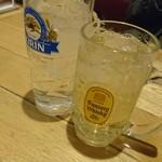 60039305 - ハイボール463円、レモンチューハイ463円(201612)