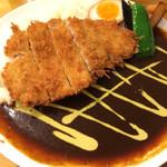 ロダン - ロースかつカレー(850円)