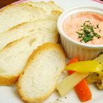 シルエット - 明太子とクリームチーズのパテ