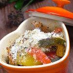 シルエット - タコとあわせた野菜のカポナータ