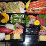 すし幸 - 幕の内料理4,000円