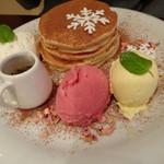 ナゴミナチュルア - アールグレイガナッシュパンケーキ