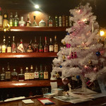 BAR NORGE - バックBARとクリスマスツリー